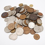 Various English Coins