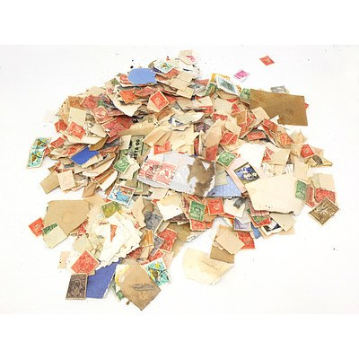 Large Group of Australian Stamps