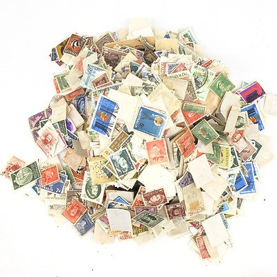 Large Group of International Stamps
