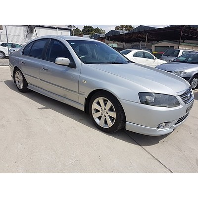 6/2007 Ford Fairmont GHIA BF MKII 07 UPGRADE 4d Sedan Silver 4.0L