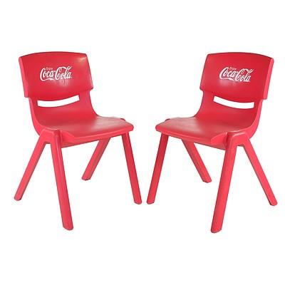 Pair of Coca Cola Chairs, Circa 2000