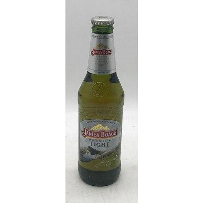 Case of 24x James Boags Premium Light Beer Bottles