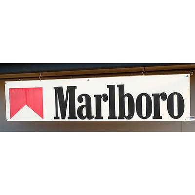 Large Marlboro Sign