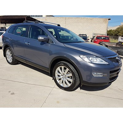12/2007 Mazda CX-9 Luxury 4d Wagon Grey 3.7L