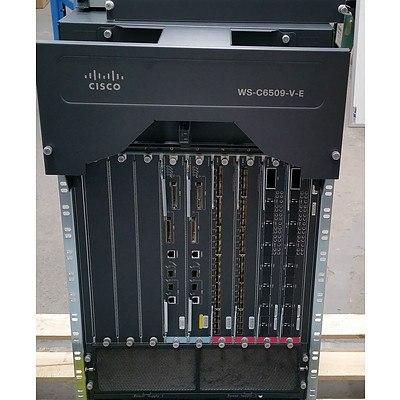 Cisco Catalyst (WS-C6509-V-E) 6500-E Series Network Chassis