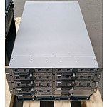 Cisco UCS 5108 Series Blade Server Chassis w/ Seven Cisco Blade Servers