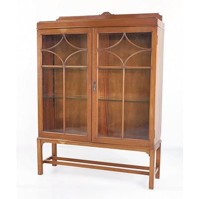 Queensland Maple China Cabinet Circa 1930s