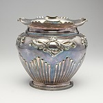 Antique Walker&Hall Silver Plated Flower Pot with Inscription Colerain Tennis Club November First 1912