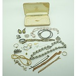 Group of Costume Jewellery Including Imitation Pearls and Necklaces