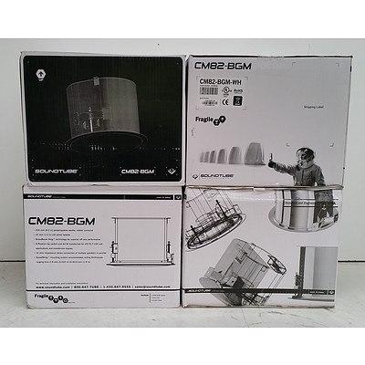 "SoundTube (CM82-BGM) 8"" Ceiling Speakers - Lot of Five*Brand New"