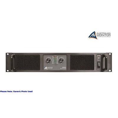 Australian Monitor AMB-600 2 x 300W Power Amplifier - Brand New