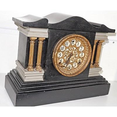 Antique American Session Mantle Clock