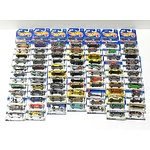 Eighty Hot Wheels Model Cars, Various Series from 1998