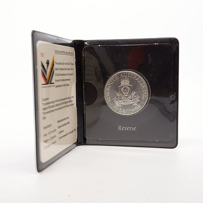 1986 South Australian Jubilee 'State Series' $10 Fine Silver Proof Coin
