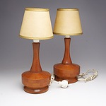 Pair of Australian Parkman Woodware Lamps