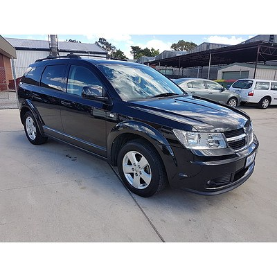 10/2010 Dodge Journey SXT JC MY10 4d Wagon Black 2.7L