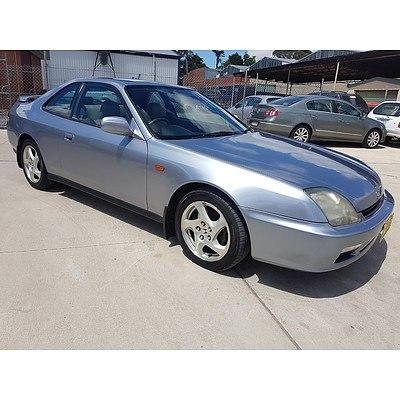 11/1999 Honda Prelude Vti-r  2d Coupe Silver 2.2L