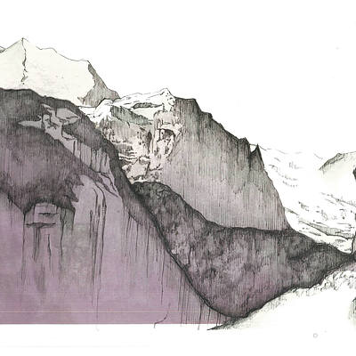 Natalie Murray, Untitled Cliff Drawing