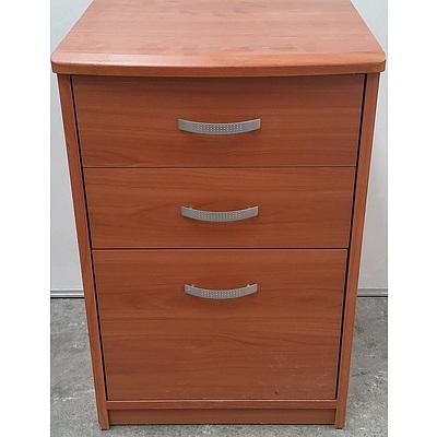 Three Drawer Stationery/Filing Cabinet