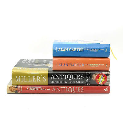 Group of Antique Reference Books