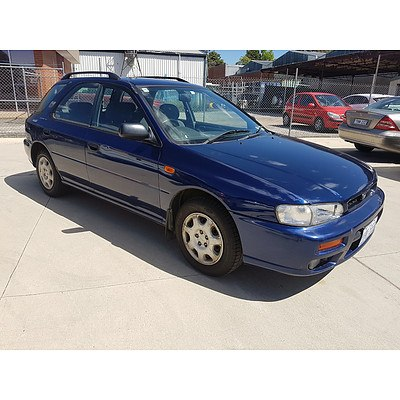 7/2000 Subaru Impreza GX (awd) MY00 5d Hatchback Blue 2.0L