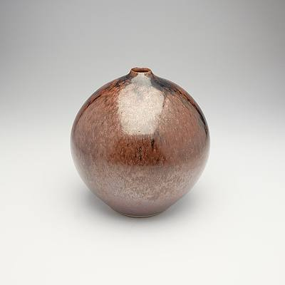 Barbara Mason Stoneware Vase, Circa 1990s-2000s