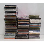 Lot of 80+ Cased CDs and 20+ Loose Discs