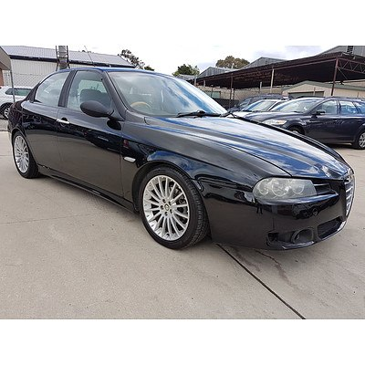 6/2005 Alfa Romeo 156 JTS  4d Sedan Black 2.0L