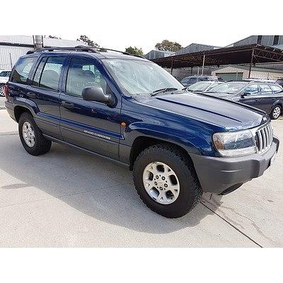 10/2004 Jeep Grand Cherokee Laredo (4x4) WG 4d Wagon Blue 4.0L