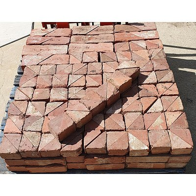 Canberra Red Clay Bricks - Lot of 270
