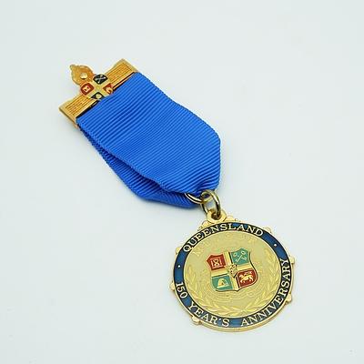 Queensland 150 Years Anniversary M.U.I.O.O.F. Medal