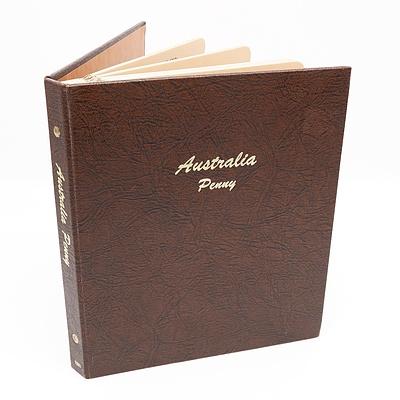 Australia Penny Set in Dansco Album 1911-1964