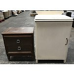 Vintage Side Tables, Veneer Coffee Tables and Veneer Chest Of Draws