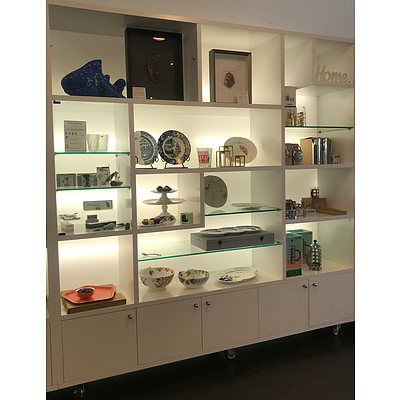 Mobile Large Wall Display Unit