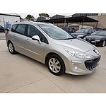 11/2009 Peugeot 308 Touring XSE HDi 2.0  4d Wagon Silver 2.0L