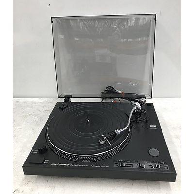 Sound Research Belt Drive DJ-1600B Full Manual Turntable