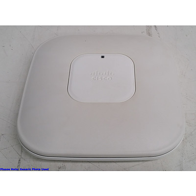 Cisco Aironet (AIR-CAP3502I-N-K9) Dual Band Access Points - Lot of Ten