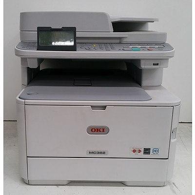 OKI MC362 Multi-Function Laser Printer and Panasonic Office Phones