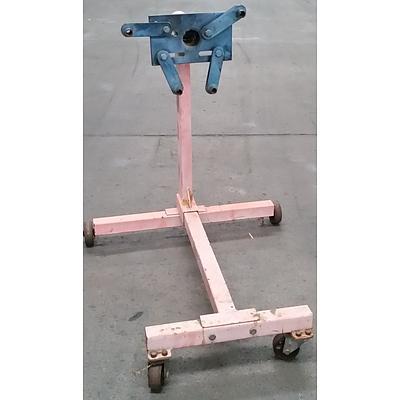 Four Wheel  Engine Stand