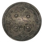 Indian Iron Dhal Shield