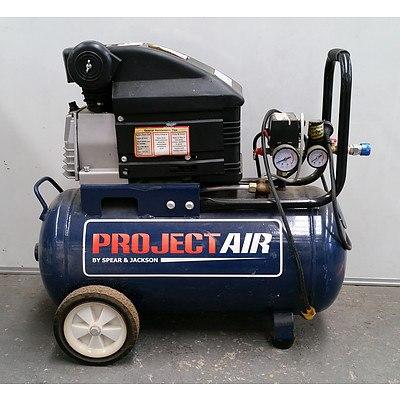 Project-Air Electric 40L Air Compressor Model TA-COMP20