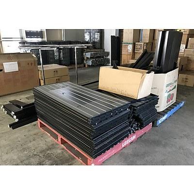 MAXe Assorted Black Slat Wall Shelving