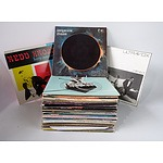 A Quantity of Vynil LP Records Including Redd Kross, Tangerine Dream and Ultravox