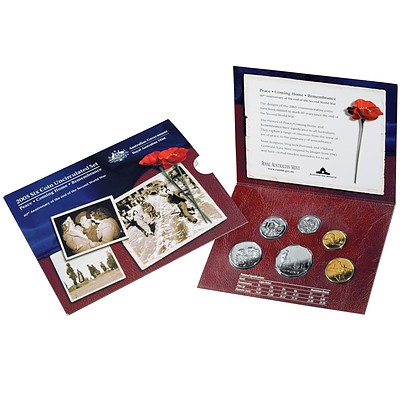Australia 2005 Six Coin Uncirculated Set