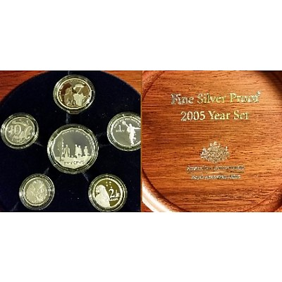 Australia 2004 Fine Silver Proof Year Set
