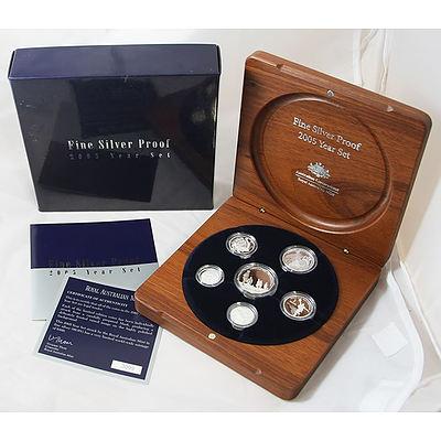 Australia 2005 Fine Silver Proof Year Set