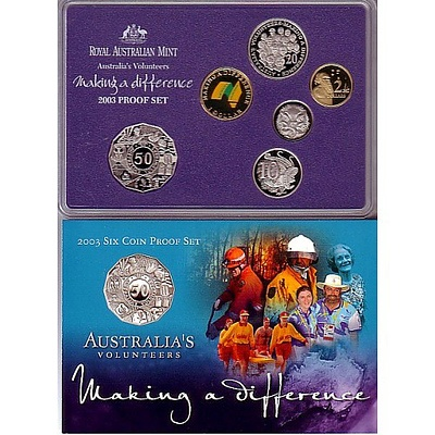 Australia 2003 Proof Set