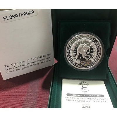 Australia: Silver $5 2000 Flora & Fauna