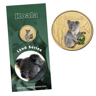 Australia: 2008 Land Series: $1 Koala