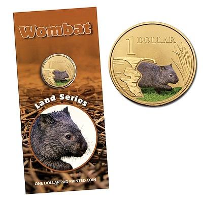 Australia: 2008 Land Series: $1 Wombat